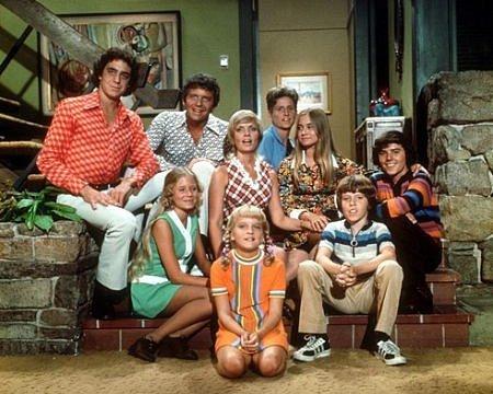 When I hear family, I still think Brady Bunch!