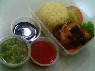 Nasi Ayam  De Tapau