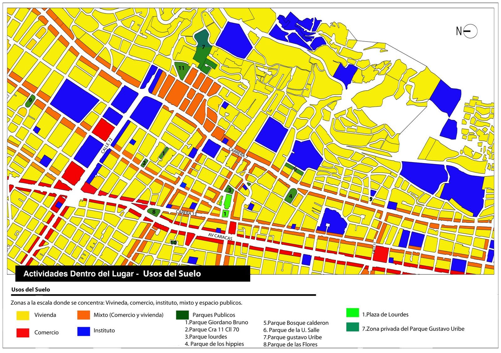 Chapinero 2011 i usos del suelo final for 4 usos del suelo en colombia