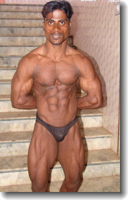 K. Gopinath is the first of the sexy Chennai bodybuilders featured in this ...