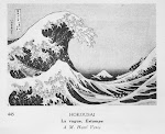 Estampes La Vague d&#39;Hokousai