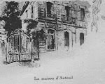 La maison d'Auteuil, juin 1886