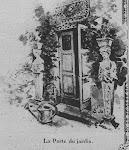 La porte de service de la maison d'Auteuil
