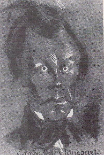 Edmond de Goncourt par Nadar