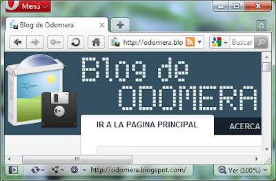 Imagen: Navegador Opera