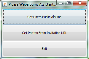 Imagen: Picasa Webalbums Assistant
