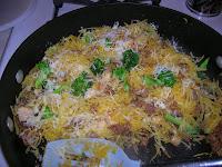 Brwon Butter Spaghetti Squash