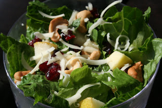 Cashew and Swiss Tossed Salad
