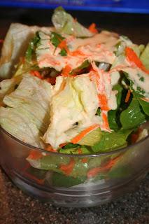 Pretend Orange Chicken and Teppanyaki Ginger Salad ohsweetbasil.com