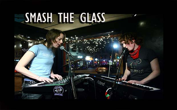 SMASH THE GLASS