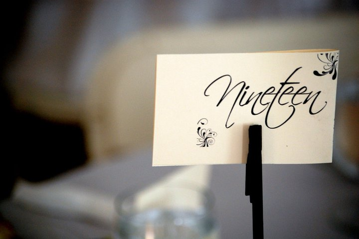 Here 39s an easy way to make your own table number stands for guest tables. Dustine s blog  Cake Boss Wedding Cake Carlo 39s bakery a famous