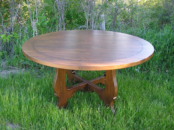 Rustic Alder Dining Room Table