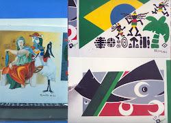 Pintura  mural,  resultado de processo  de  criação.
