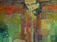 an abstract picture of Christ