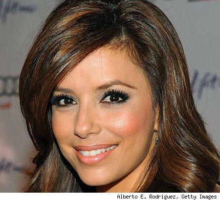 eva longoria makeup. How to apply make up for brown