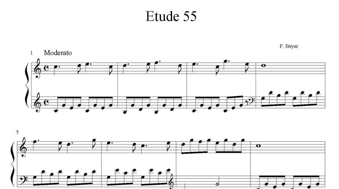 Partitura De Etude Suzuki Violin