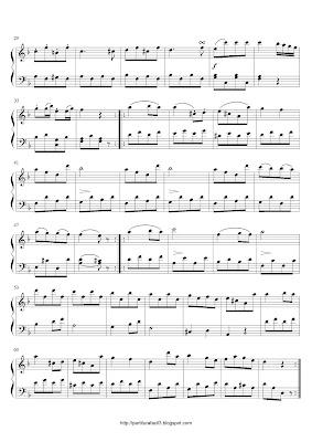 Partitura de piano gratis de Ludwig van Beethoven: Rondo (Sonatina No.2)