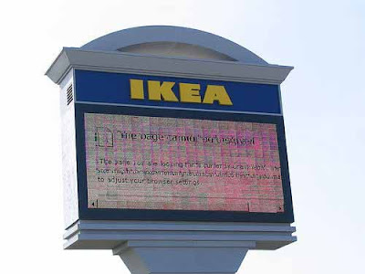 Ikea - The page cannot be displayed