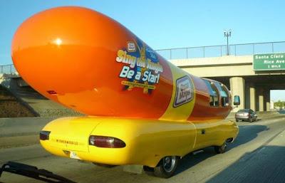 Amazing Hotdog Car