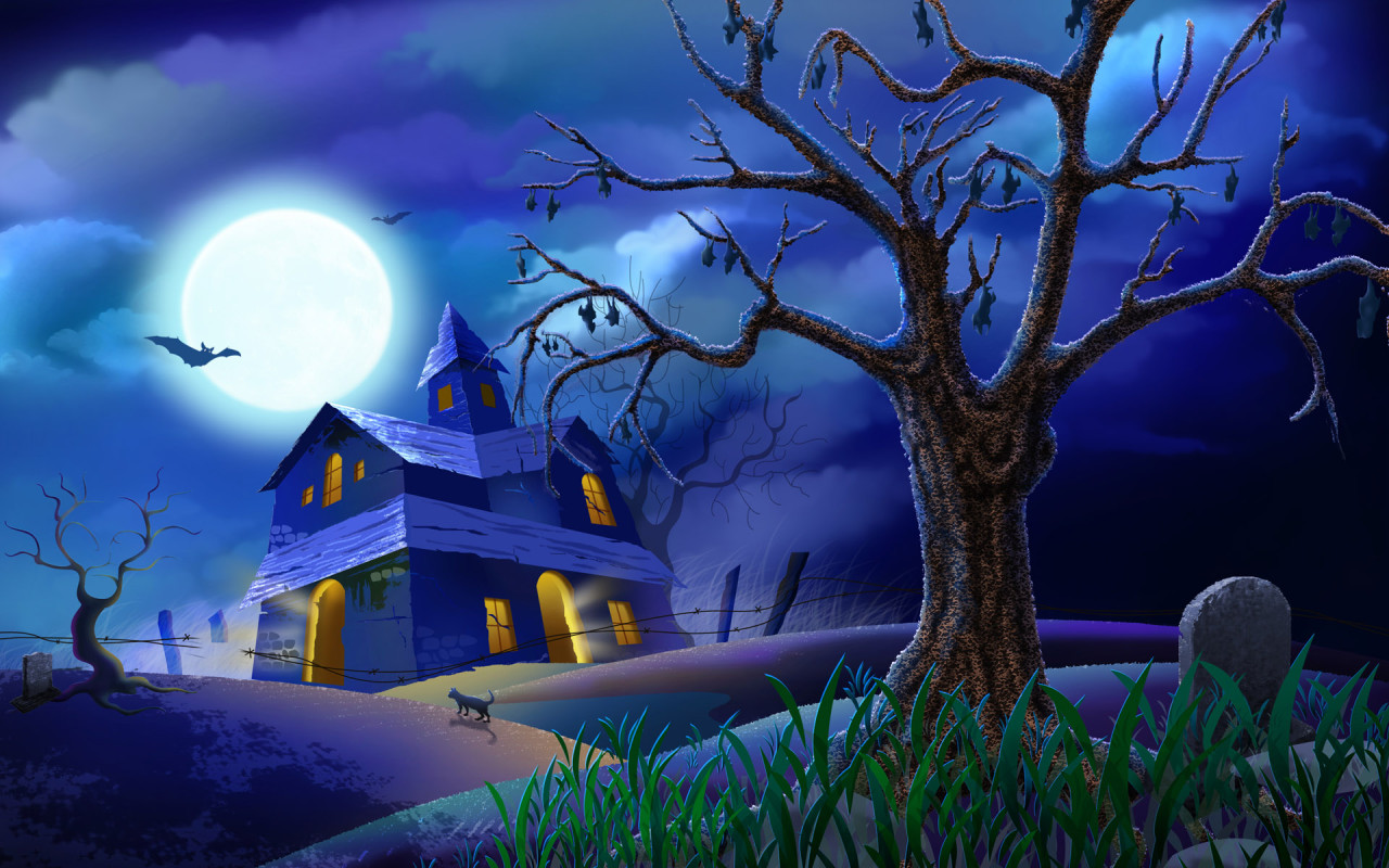 free wallpapers halloween pictures free desktop