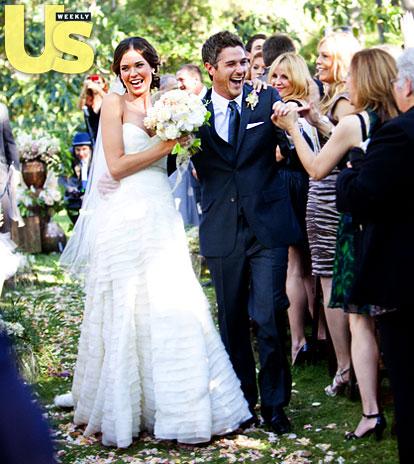 holdem celebrity beautiful brides odette yustman and