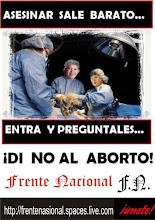 NO AL ABORTO!