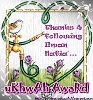 Award dari Ilman Nafia~