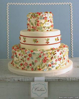 I now have Martha Stewart 39s Wedding Cakes in my library and I 39m loving it