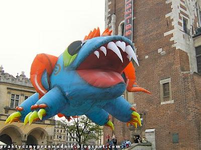 Parada Smoków 2009 zdjęcie smok