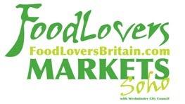 Targ w Londynie Foodlovers Markets Soho