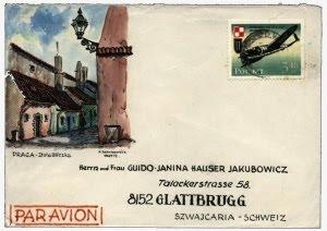 Wystawa kartek pocztowych