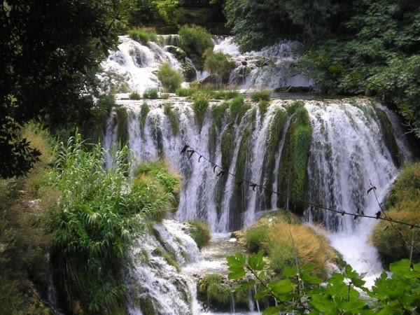 Park Krka Wodospady