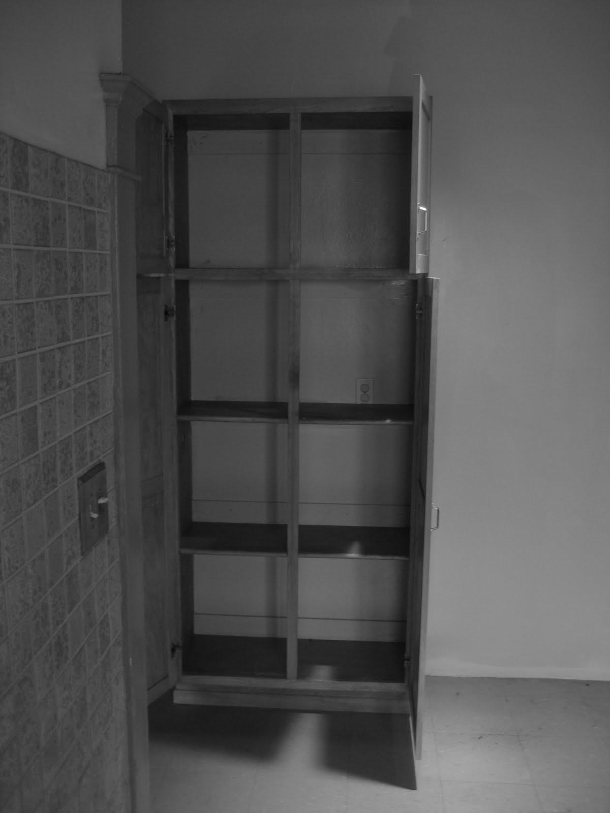 the kitchen corner cabinet