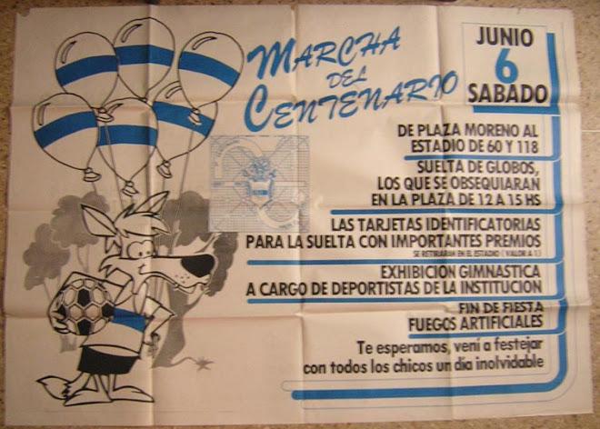 Afiche del centenario 1987