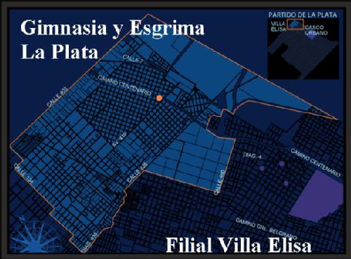 Plano de Villa elisa