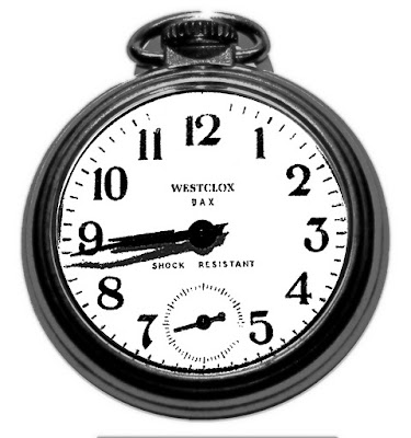 pocket watch montre poche noir blanc