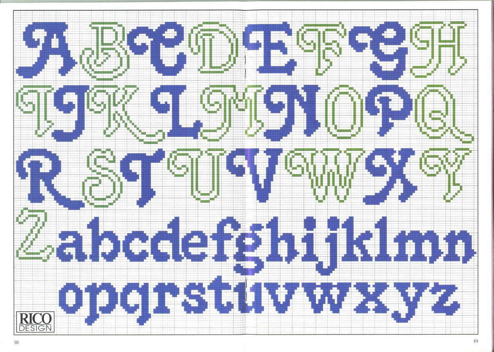 Алфавит вышивка крестом схемы 16
