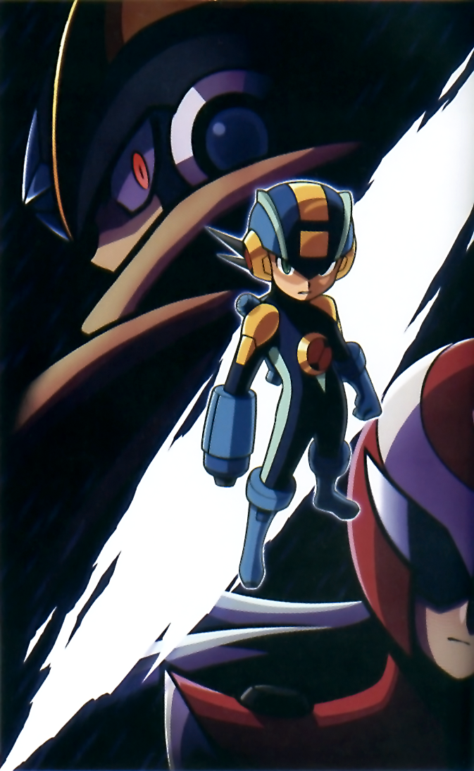 Official Mega Man Star Force 10th Anniversary art by series ...