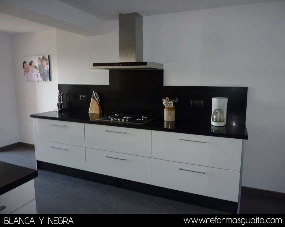 Modelos de topes de granito para cocinas - Azulejos blancos cocina ...