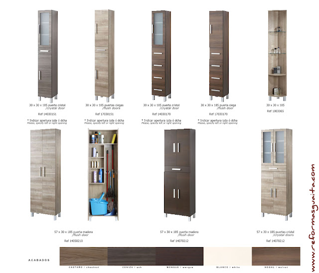 Armarios De Baño Columna:Muebles auxiliares para el baño IV ~ Reformas Guaita