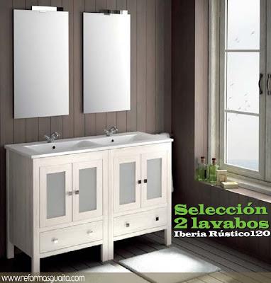 Informe especial lavabo para dos reformas guaita - Muebles rusticos en blanco ...