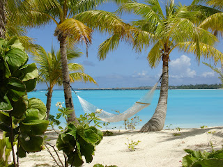 Paradise in a hammock