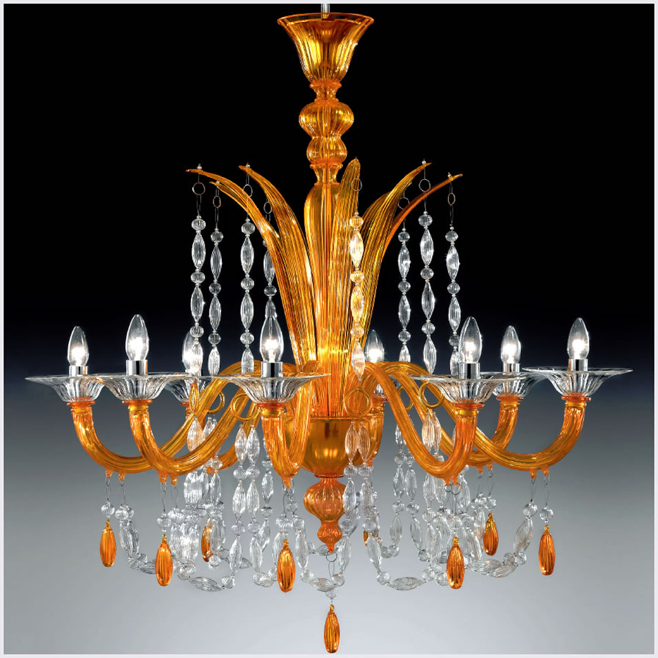 Home interior lighting fixtures from Murano