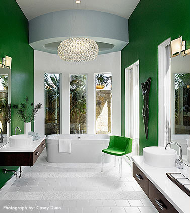 It 39 s a colorful life emerald green for Emerald green bathroom accessories