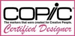 I am a Copic Certified Designer!