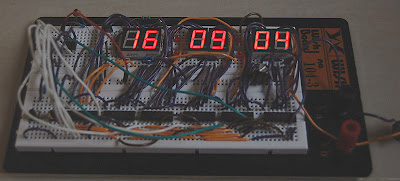 7-Segment Digital Clock PIC16F628