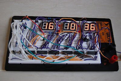 7-Segment Digital Clock PIC Microcontroller