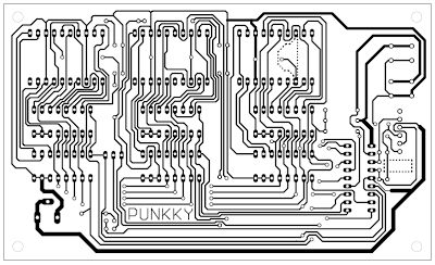 PCB for 7-Segment PIC Digital Clock