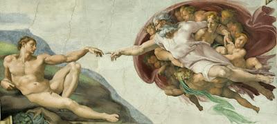 Adams skapelse av Michelangelo