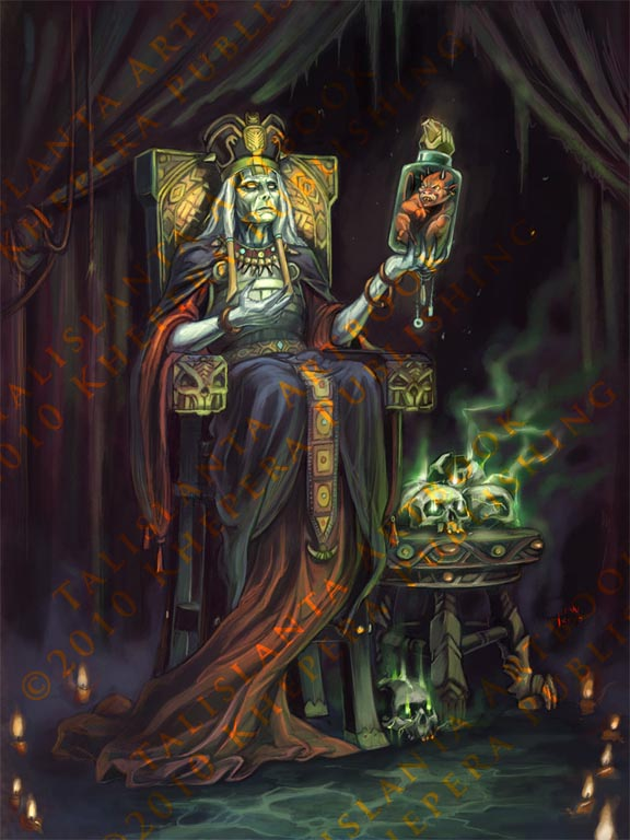 Jetan Cool Talislanta Art